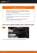 Montage Unité de bobine d'allumage BMW 3 Touring (E46) - tutoriel pas à pas