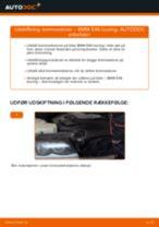 Udskift bremseskiver for - BMW E46 touring   Brugeranvisning