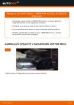 Kako zamenjati avtodel zavorni diski spredaj na avtu BMW E46 touring – vodnik menjave