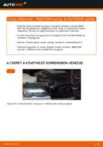 Hogyan cseréljünk Távfényszóró izzó BMW 3 Touring (E46) - kézikönyv online