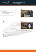 Hinweise des Automechanikers zum Wechseln von MAZDA Mazda 3 bk 1.6 DI Turbo Querlenker