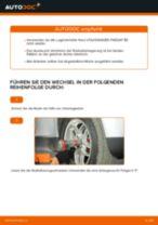 Hinweise des Automechanikers zum Wechseln von VW Passat 3B6 1.8 T 20V Bremsscheiben