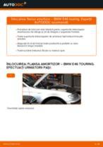 Cum să schimbați: flansa amortizor din față la BMW E46 touring | Ghid de înlocuire