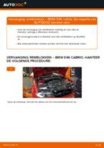 Hoe remblokken vooraan vervangen bij een BMW E46 cabrio – vervangingshandleiding