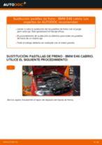 Instalación Bombin de freno BMW 3 Convertible (E46) - tutorial paso a paso