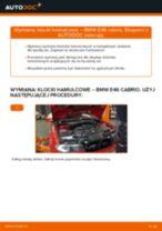 Jak wymienić klocki hamulcowe przód w BMW E46 cabrio - poradnik naprawy