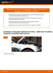 Jak przeprowadzić wymianę: Poduszka Amortyzatora w BMW 3 SERIES