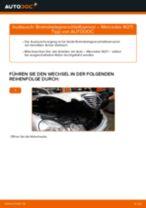 Wann Warnkontakt Bremsbelagverschleiß wechseln: PDF Handbuch für MERCEDES-BENZ E-CLASS (W211)