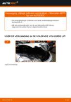 Stap-voor-stap PDF-handleidingen over het veranderen van MERCEDES-BENZ E-CLASS (W211) Remklauw Reparatieset