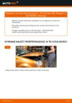 Zalecenia mechanika samochodowego dotyczącego tego, jak wymienić FIAT Fiat Panda 169 1.1 Amortyzator