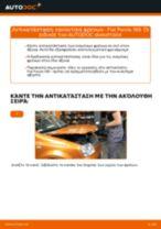 Αντικατάσταση Καπό FIAT μόνοι σας - online εγχειρίδια pdf