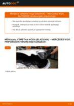 Naučite se odpraviti težave z spredaj Blazilnik MERCEDES-BENZ