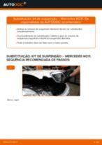 Como mudar: kit de suspensão da parte dianteira - Mercedes W211 | Guia de substituição