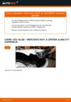 MERCEDES-BENZ E-CLASS Gólyaláb cseréje : ingyenes pdf
