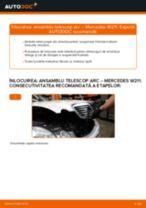 Schimbare Amortizor MERCEDES-BENZ E-CLASS: manual de intretinere si reparatii