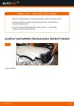 Milloin vaihtaa Jouset MERCEDES-BENZ E-CLASS (W211): käsikirja pdf