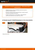 Wymiana: sprężyny zawieszenia przód >> Mercedes W211 | Poradnik krok po kroku