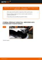 Instalace Tlumiče pérování MERCEDES-BENZ E-CLASS (W211) - příručky krok za krokem