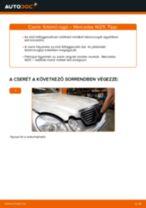 Autószerelői ajánlások - MERCEDES-BENZ Mercedes W211 E 270 CDI 2.7 (211.016) Toronycsapágy csere