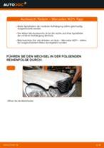 Schritt-für-Schritt-PDF-Tutorial zum Bremssattelhalter-Austausch beim MERCEDES-BENZ E-CLASS (W211)