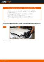 Online gratis instructies het Schroefveren vervangen MERCEDES-BENZ E-CLASS (W211)