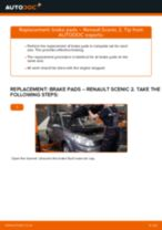 Step by step PDF-tutorial on Brake Discs Opel Commodore B Coupe replacement
