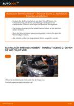 Halter, Stabilisatorlagerung wechseln RENAULT SCÉNIC: Werkstatthandbuch