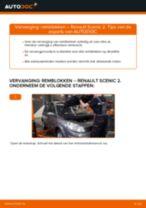 Hoe remblokken achteraan vervangen bij een Renault Scenic 2 – vervangingshandleiding