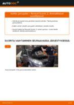 RENAULT SCÉNIC Iskunvaimennin vaihto: ilmainen pdf