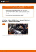 Výměna Brzdové Destičky RENAULT SCÉNIC: zdarma pdf