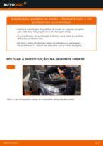 Manual online sobre a substituição de Medidor de caudal de ar em RENAULT SCÉNIC II (JM0/1_)