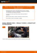 Kad mainīt Amortizatora Putekļu Sargi & Demfers RENAULT SCÉNIC II (JM0/1_): pdf rokasgrāmata