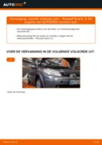Stap-voor-stap reparatiehandleiding Renault Scenic 3