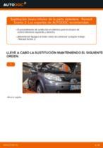 Cómo cambiar: brazo inferior de la parte delantera - Renault Scenic 2 | Guía de sustitución