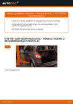 Hur byter man Tändstift RENAULT SCÉNIC II (JM0/1_) - handbok online