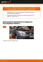 Подмяна на Носач На Кола RENAULT SCÉNIC: техническо ръководство
