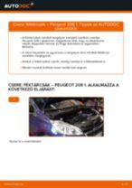 Lépésről-lépésre PDF-útmutató - PEUGEOT 208 Felfüggesztés csere