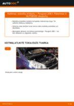 PEUGEOT 2008 remonto ir priežiūros instrukcija