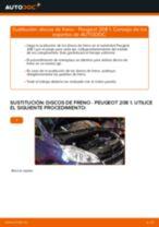 Descubra nuestro detallado tutorial sobre cómo solucionar el problema de Disco de freno delanteras y traseras PEUGEOT