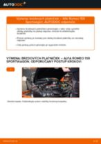 Ako vymeniť predné vľavo vpravo Lozisko kolesa na Mercedes Vito W638 - manuály online