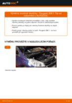 Podrobný průvodce opravami pro PEUGEOT 208 II Schrägheck (UB_, UP_, UW_, UJ_)