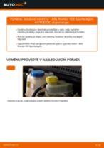 Jak vyměnit přední a zadní Brzdové Destičky ALFA ROMEO udělej si sám - online návody pdf