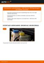 Asendamine Pidurisadula Remondikomplekt ALFA ROMEO 159: käsiraamatute