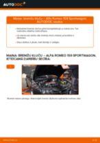 Soli-pa-solim PDF apmācība kā nomaināms ALFA ROMEO 159 Sportwagon (939) Kronšteins, Stabilizatora bukse