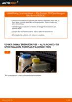 Vedligeholdelse ALFA ROMEO manualer pdf
