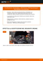 Come cambiare è regolare Kit accessori, Pastiglia freno ALFA ROMEO 159: pdf tutorial