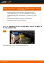 RIDEX 82B0486 för 159 Sportwagon (939) | PDF instruktioner för utbyte