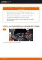 Korjaamokäsikirja tuotteelle Mazda 323 BG