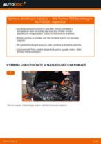 Výmena predné vľavo vpravo Lozisko kolesa Mercedes Vito Mixto W639: tutorial pdf