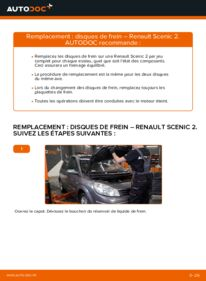 Comment effectuer un remplacement de Disques De Frein sur 1.9 dCi Renault Scenic 2